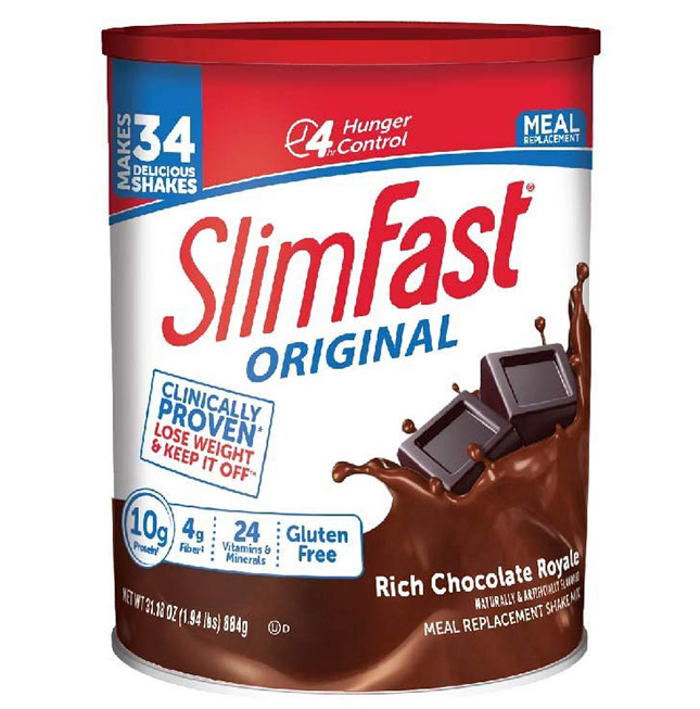 Slimfast meal replacement shake for weight loss
