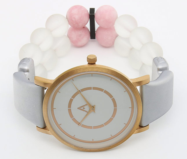 AMALGAM Watch-white